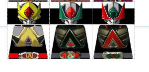 Kamen RIder Blade Movie Riders LEGO DECALS by Digger318