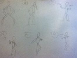Gesture drawings part 6 by Tlong2011