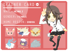Pokemon Trainer: Nenali by Enacchi