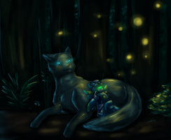 Fireflies by DJaimon