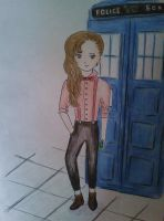 11th Doctor...girl by ezra15