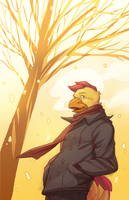 Yellow Winter by Orangetavi
