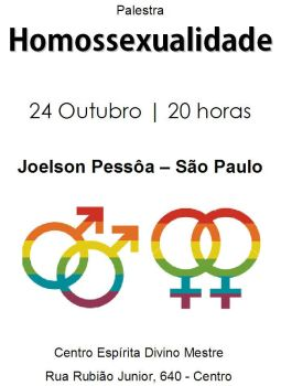 Palestra Homossexualidade by sika-1985