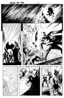 Batman Vs Predator Page 2 by MaxAlanFuchs