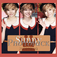 Photopack Sunny- SNSD 017 by DiamondPhotopacks