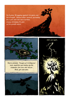 The Stubborn Tree, page II by ILoveKnives