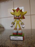 Super Shadow papercraft by augustelos