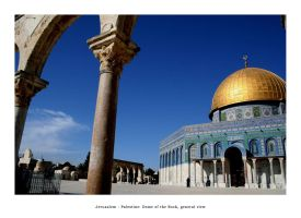 Jerusalem, Dome of the Rock7 by Palestine-Club