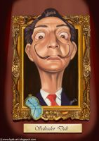 Salvador Dali by Bjak