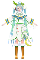TDA SNOW MIKU 2015 CLOTHES and acce FINISHED!!!! by ChocoFudge98