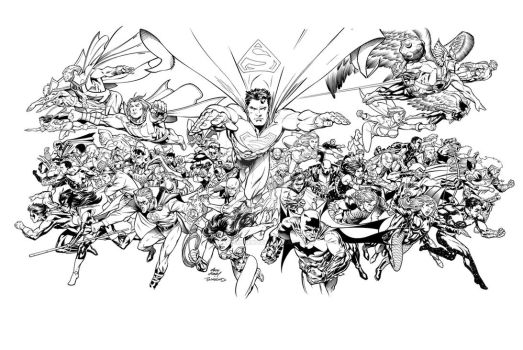 DC Comics COUNTDOWN cover by TimTownsend