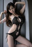 Anri Sugihara - sleek black lingerie by Anri-Sugihara