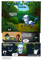 Crazy Jungle - FacciaLibro - 1 by StePandy