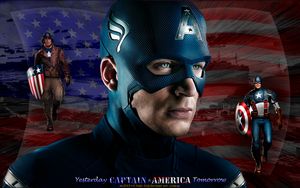 CAPTAIN AMERICA: YESTERDAY and TOMORROW by CSuk-1T
