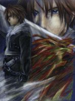 Squall for Gryphus by SueKeruna