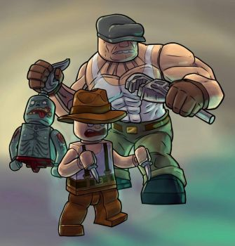 LEGO The Goon by DangerPins