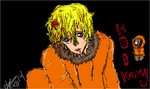 Kenny Mccormick by gothiecakes