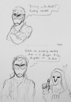 Flirting With Death by Psijay