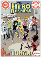 Hero Business Alternate Cover 6 by BillWalko