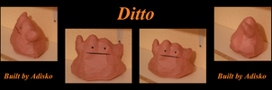 Ditto Paper Pokemon by Adisko
