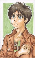 Eren Jaeger - Attack on Titan by SpazztasticFanGirl