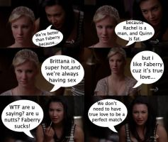 Brittana is better because... by mjor
