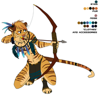 Anthro Tiger by Demicus-Maximus