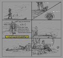 Skyrim Comic: Watch your step by Daolpu