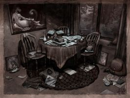 Bernard's Room by BJPentecost