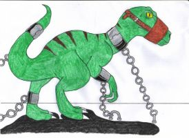 Raptor in chains by tan575