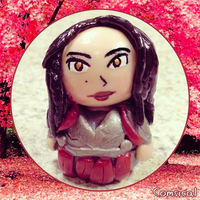 Lady Sif Clay Figurine by Comsical
