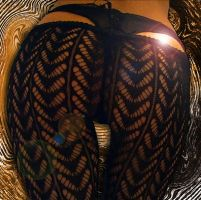Psycho in Fishnets by SuziQPDhol