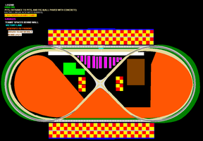 Curtis County Speedway- Map by Fordartist