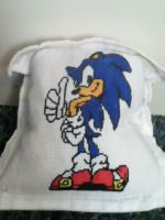 sonic the hedgehog pillow by supersonicthehedghog