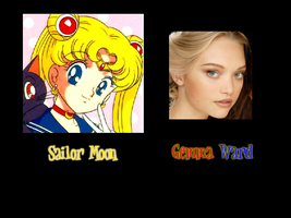 Sailor Moon - Gemma Ward by FalseDisposition