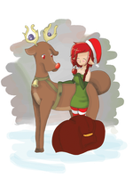 MILA - Stantler Stantler High in the Sky Event by Cute-Adoptabels
