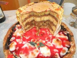 Neapolitan Cake Inside by sweetdisposition14
