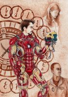Tony Stark - The Genius (Billionaire, Playboy...) by danielfoez