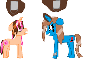 Wet Manes by PaintTasticPony