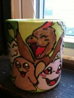 Digimon Mug 3 by pinknailpolish89