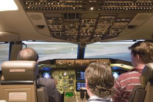 757-200 level D simulator by BillH-Photo