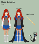 HP - Hazel Reference Sheet by theRainbowOverlord