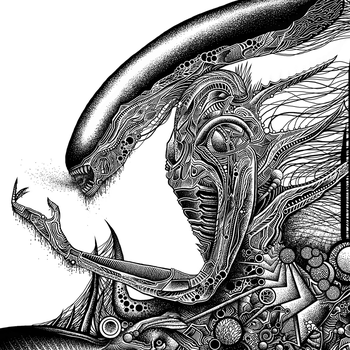 Giger detail 3 by SearingLimb