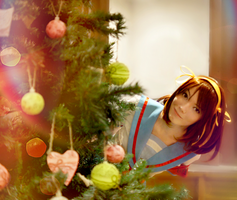 The Melancholy of Haruhi Suzumiya - Happy New Year by Shredinger-Cat