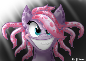 scary octi by mea0113