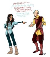 Katara says no beard by Jazzie560