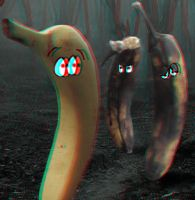 Attack of the Zombie Bananas! 3-D conversion by MVRamsey