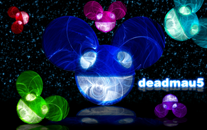 deadmau5 with stars by darkdissolution