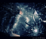 outer space by Lhianne