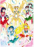 Selenit Saturn (Usagi), Mars,Jupiter,Venus,Mercury by Selenit-Saturn